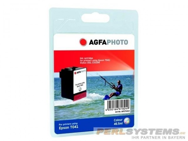 AGFAPHOTO ET041C Epson STC62 Tinte Color