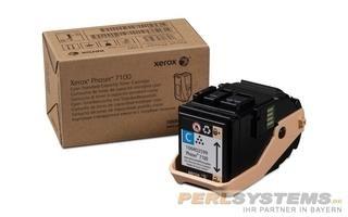 Xerox Toner cyan für Phaser 7100 PH7100 4.500 Seiten