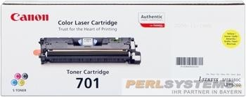 Canon 701 Cartridge Yellow LBP5200 MF8180 9284A003