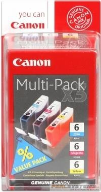 CANON BCI-6 Multipack Cyan Magenta Yellow