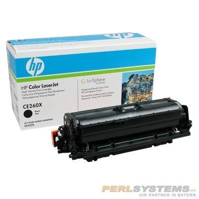 HP 649X Toner Black für Color LaserJet CP4520 CP4525