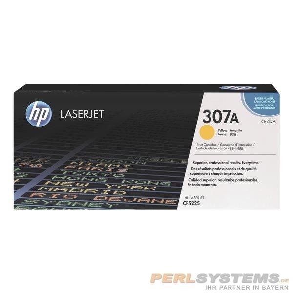 HP 307A Toner Yellow für Color LaserJet CP5220 CP5225