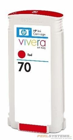 HP 70 Tinte red No.70 mit HP Vivera Tinte