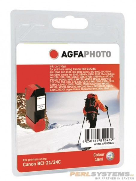 AGFAPHOTO CBCI24C Canon S300 Tinte Color