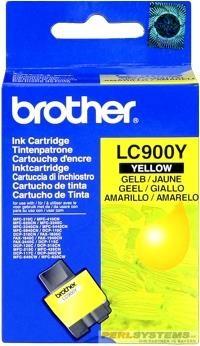 Brother Tintenpatrone Yellow LC900Y