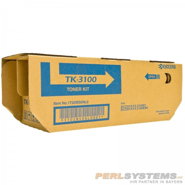 Kyocera Toner Black TK-3100 1T02MS0NL0 für FS-2100 KM-3040