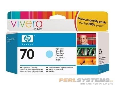 HP 70 Tinte light cyan No.70 DesignJet Z2100