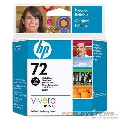 HP 72 Tinte Fotoschwarz für DesignJet T1200
