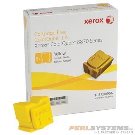 XEROX ColorQube 8870 Festtinte STIX 6 Yellow Solid Ink