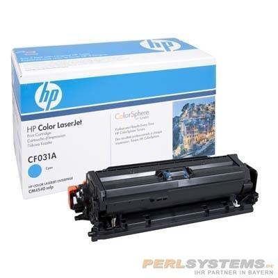 HP CF031A Toner Cyan für Color LaserJet CM4540