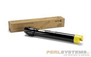 XEROX PH7500 Toner Yellow 17.800 Seiten HC