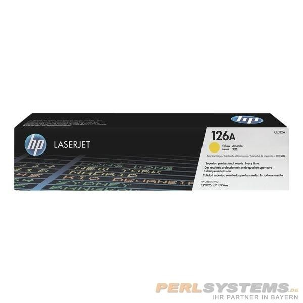 HP 26A Toner yellow für Color LaserJet CP1025 M175