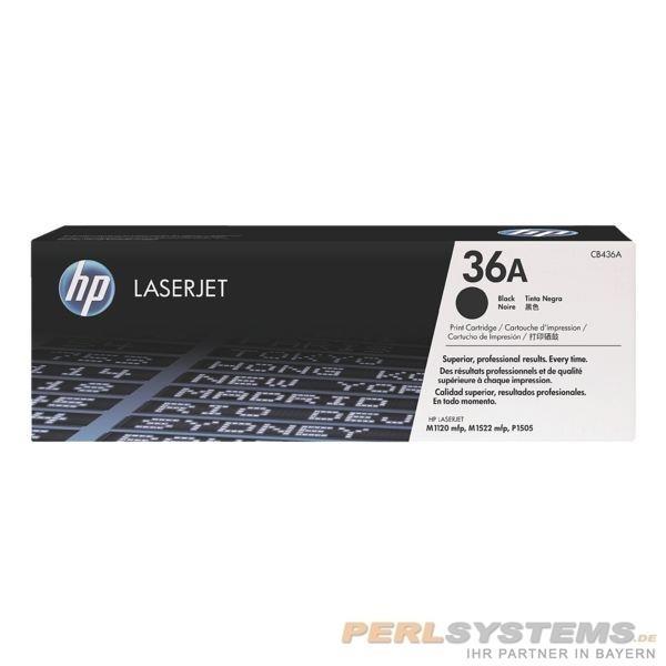 HP 36A Toner Black für LJ P1505 M1522 M1120