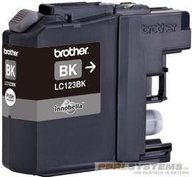 Brother Tintenpatrone Black LC-123BK MFC-J4510DW