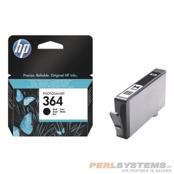 HP 364 Tintenpatrone Black DJ3070 5510 B8550