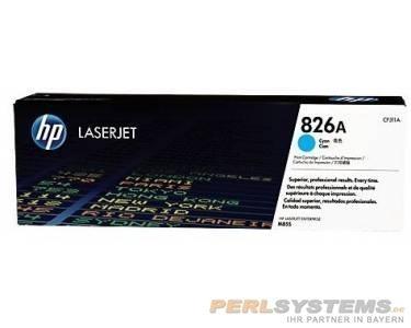 HP 826A Toner Cyan für Color LaserJet Enterprise M855