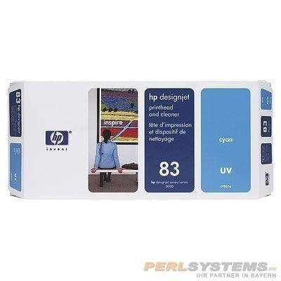HP 83 Druckkopf Cyan Druckkopf Reiniger No.83 DSJ5000