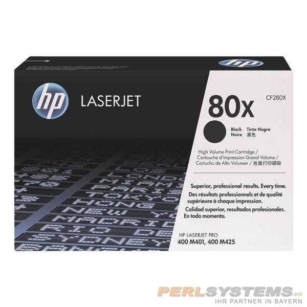 HP 80X Toner Black für LaserJet Pro M400 Pro M401