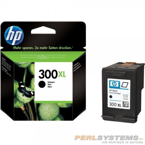 HP 300XL Tinte schwarz No.300 XL mit Vivera Tinte