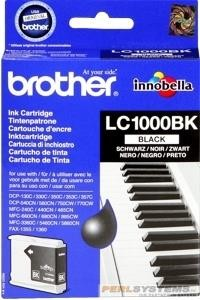 Brother Tintenpatrone Black LC1000BK