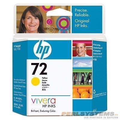 HP 72 Tinte gelb für DesignJet T1200