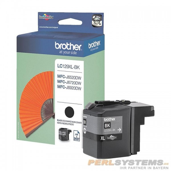 Brother LC129XLBK Tinte Black für MFC-J4510DW