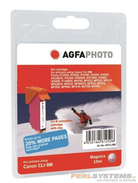 AGFAPHOTO CCLI8M Canon MP800 Tinte mag