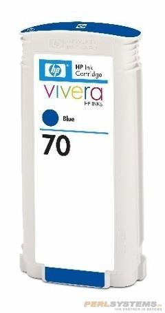 HP 70 Tinte Blau No.70 mit HP Vivera Tinte Z2100