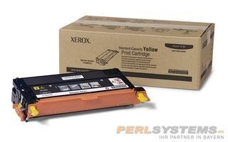 XEROX PH6180 Phaser 6180MFP Toner Yellow Standard-Tonerpatrone