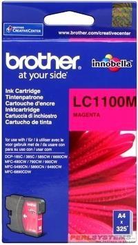 Brother Tintenpatrone Magenta LC1100M