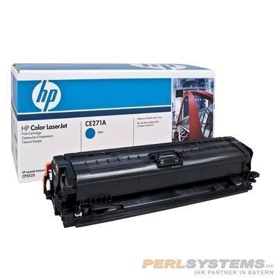 HP 650A Toner Cyan für Color LaserJet CP5525