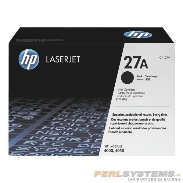 HP 27A Toner Black für LaserJet 4000 LJ4050