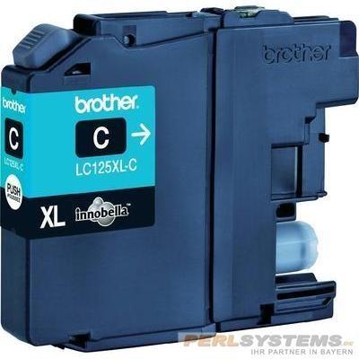 Brother LC125XLC Tinte Cyan für MFC-J4510DW