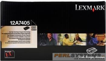 Lexmark Toner Black für Optra E321 / E323