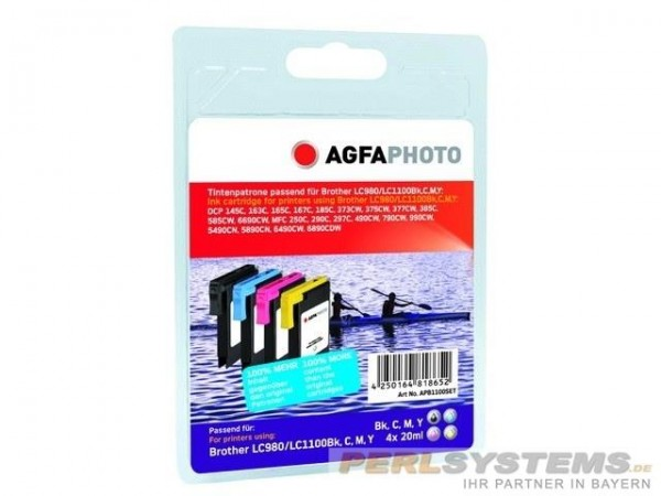 AGFAPHOTO APB1100SET Brother Tinte für MFC-790 Multi Pack