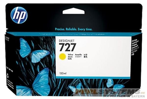 HP 727 Tinte Yellow für DesignJet T920 T1500 T2500