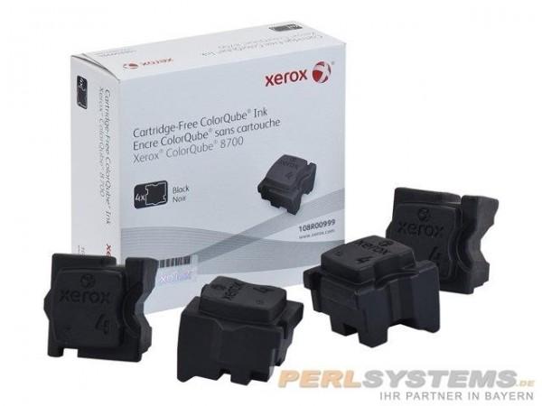 XEROX ColorQube 8700 Festtinte STIX 4 Black Solid Ink