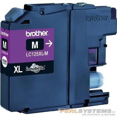 Brother LC125XLM Tinte Magenta für MFC-J4510DW