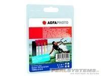 AGFAPHOTO ET071/089SET Epson SX1004x13ml Tinte Extra Life Chip