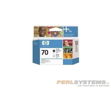 HP 70 Druckkopf Fotoschwarz + Grau hell DesignJet Z2100