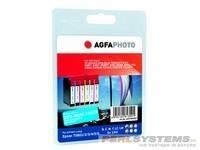 AGFAPHOTO ET080SET Epson RX265 Tinte SET6x13ml Extra Life Chip