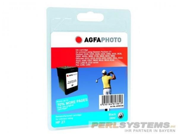 AGFAPHOTO HP27B HP DJ3420 Tinte Black