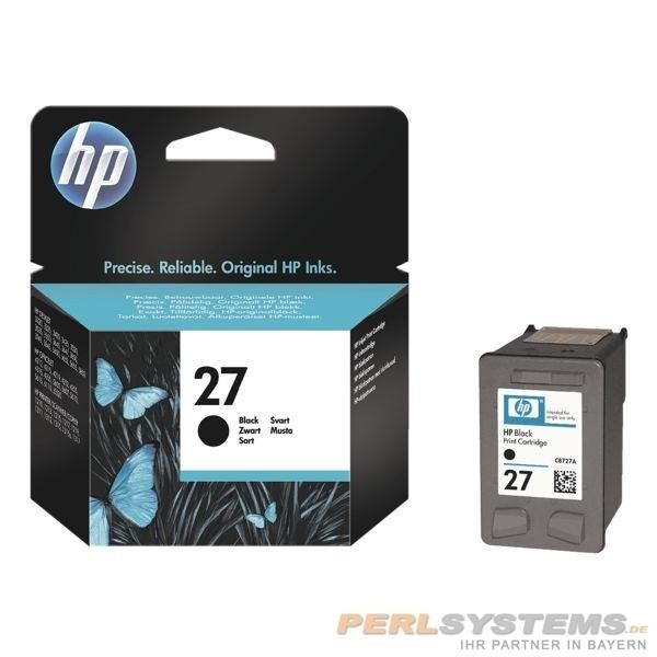 HP 27 Tintenpatrone schwarz DJ3420 HP Officejet 4212