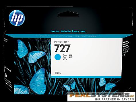 HP 727 Tinte Cyan für DesignJet T920 T1500 T2500