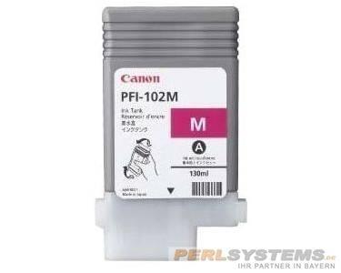Canon Tinte PFI-102M Magenta IPF500 IPF750 0897B001