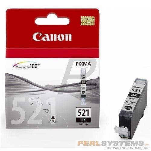 Canon Tinte Black CLI-521BK MP540 iP3600