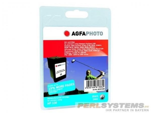 AGFAPHOTO HP338B HP DJ5710 Tinte Black