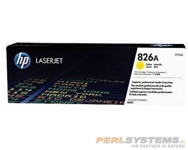 HP 826A Toner Yellow für Color LaserJet Enterprise M855