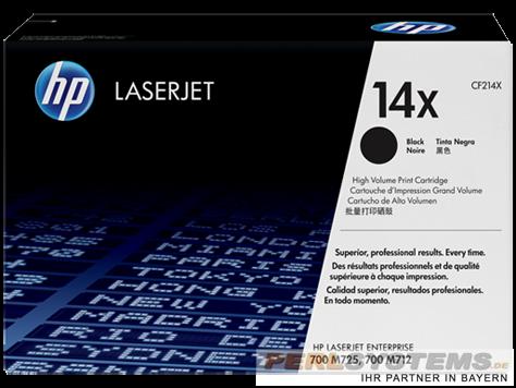 HP 14X Toner Black Pro 700 MFPM712DN