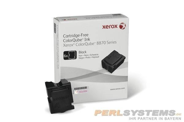 XEROX ColorQube 8870 Festtinte STIX 6 Black Solid Ink